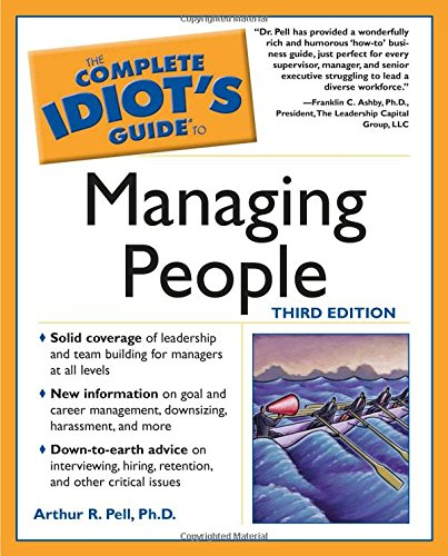 9781592571451: Complete Idiot's Guide to Managing People, 3E (The Complete Idiot's Guide)