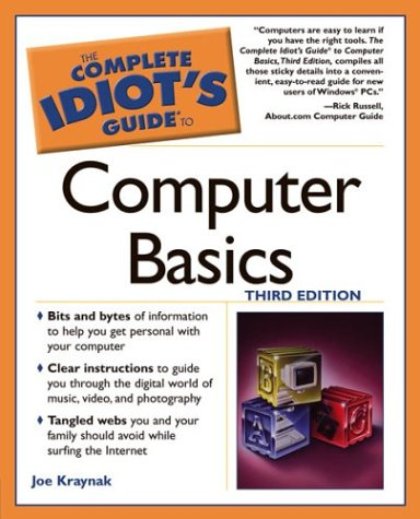 9781592571680: The Complete Idiot's Guide to Computer Basics, 3E