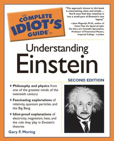 9781592571857: The Complete Idiot's Guide to Understanding Einstein, 2nd Edition (Complete Idiot's Guides (Lifestyle Paperback))