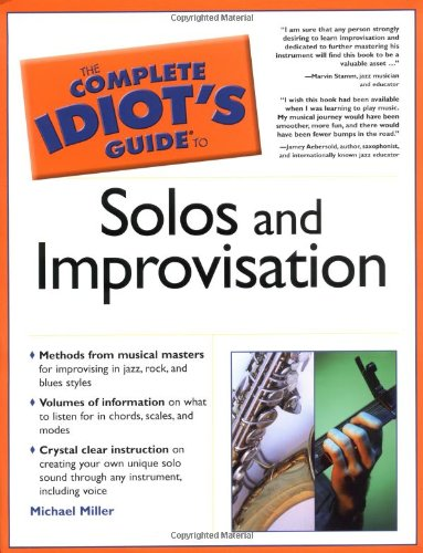 9781592572106 The Complete Idiot S Guide To Solos And