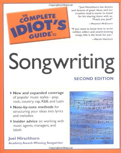 9781592572113: The Complete Idiot's Guide to Songwriting, 2nd Edition