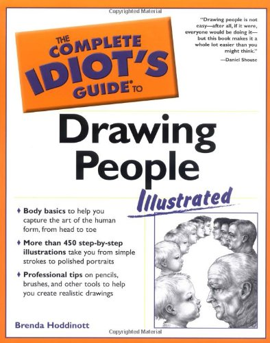 The Complete Idiot's Guide to Drawing People Illustrated (Complete Idiot's Guides (...
