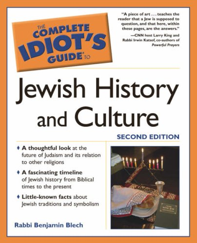 9781592572403: Complete Idiot's Guide to Jewish History and Culture