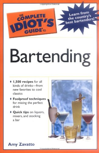 9781592574124: The Complete Idiot's Guide to Bartending