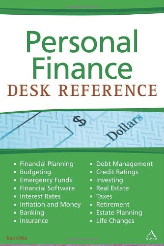 9781592576029: Personal Finance Desk Reference