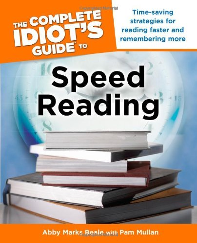 9781592577781: The Complete Idiot's Guide to Speed Reading
