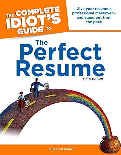 9781592579570: The Complete Idiot's Guide to the Perfect Resume, 5th Edition