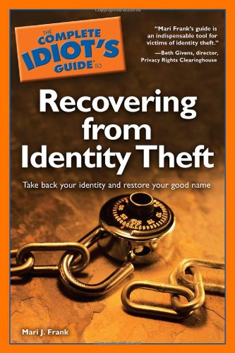 9781592579921: The Complete Idiot's Guide to Recovering from Identity Theft