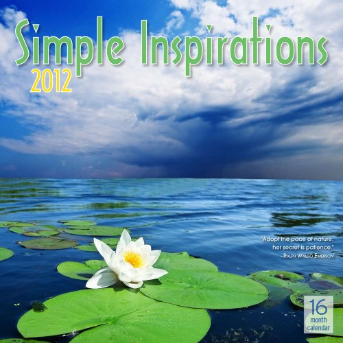 9781592589319: 2012 Simple Inspirations Wall calendar