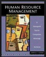9781592600595: Human Resource Management: A Managerial Tool for Competitive Advantage