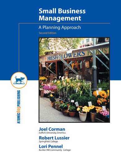 9781592601400: Small Business Management: A Planning Approach