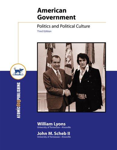 9781592601653: American Government: Politics and Political Culture