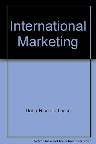 International Marketing, 2nd Edition: Lascu