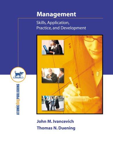 9781592601882: Management: Skills, Application, Practice, and Development