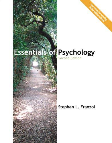 9781592602315: Essentials of Psychology, 2e