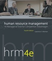 9781592602681: Human Resource Management: A Managerial Tool for Competitive Advantage, 4th Edition