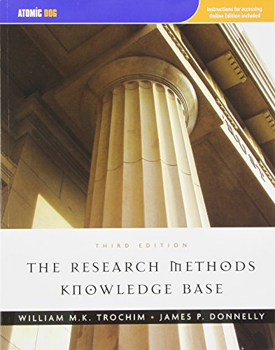 The Research Methods Knowledge Base: Trochim, William; Donnelly,