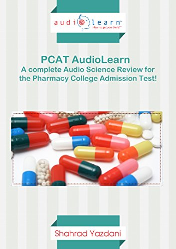 9781592620029: AudioLearn PCAT - A Complete Science Review of Biology, Chemistry, Organic Chemistry Concepts Tested on the Pharmacy College Admission Test!