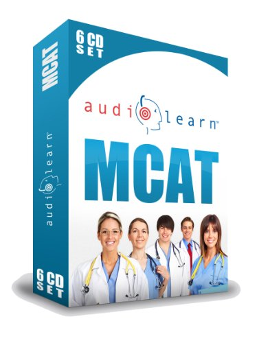 9781592620265: MCAT AudioLearn - A Complete Science Review for the Medical College Admission Test on 6 Audio CDs!