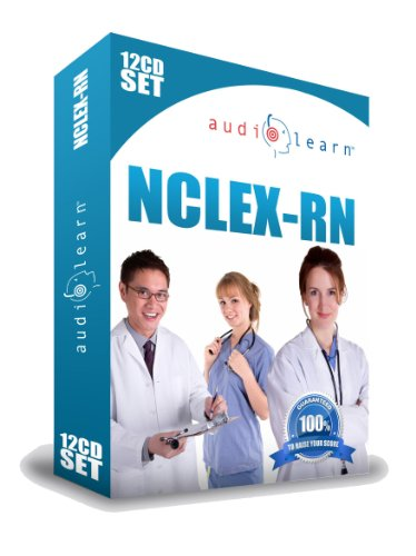 9781592620296: 2018 NCLEX-RN AudioLearn - A Complete Audio Study Guide & Review for the NCLEX-RN on 12 Audio CDs