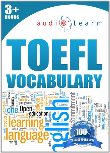 9781592620371: TOEFL Vocabulary AudioLearn - Top 500 TOEFL Vocabulary Words You Must Know!