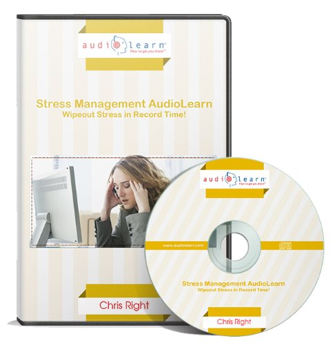 9781592629404: Stress Management AudioLearn : Wipeout Stress in Record Time! (Complete, Unabridged Audiobook)