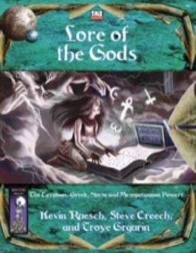 Lore of the Gods (d20; BAS1017)