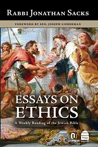 Essays on Ethics: Sacks, Jonathan