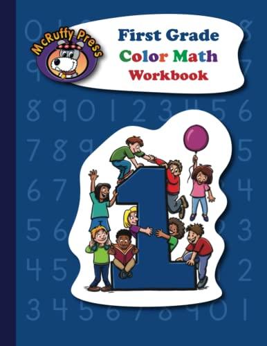 9781592691449: First Grade Color Math Workbook Mcruffy Press