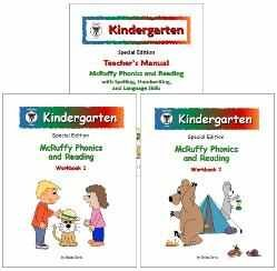 9781592691906: McRuffy Press Kindergarten SE Phonics and Reading Curriculum