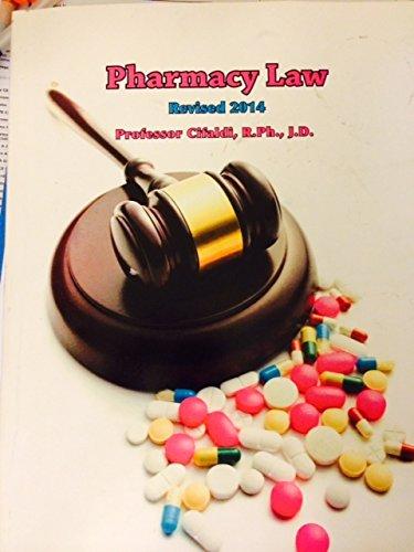 9781592712700: Cifaldi NJ Pharmacy Law 2014