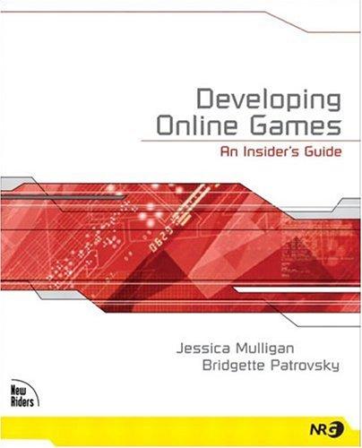 9781592730001: Developing Online Games: An Insider's Guide (Nrg-Programming)