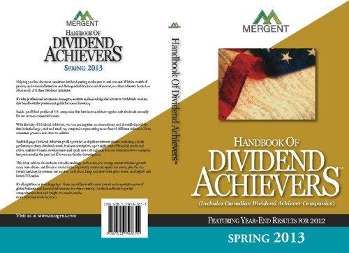 Mergent's Handbook of Dividend Achievers: Spring 2013