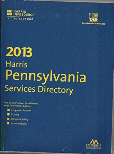9781592749232: Pennsylvania Services Directory 2013 (Harris Pennsylvania Services Directory)