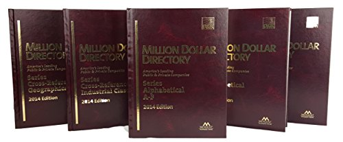 Million Dollar Directory Top 50,000: Mergent