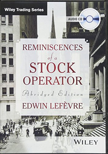 Reminiscences of a Stock Operator (Compact Disc): Edwin Lefevre