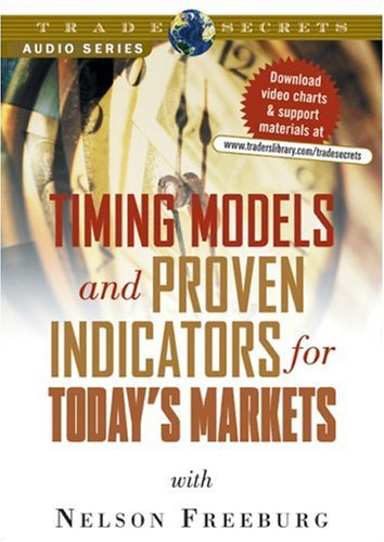 9781592802289: Timing Models & Proven Indicators for Today's Markets