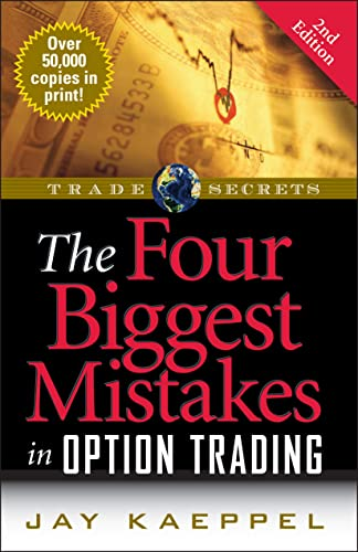 9781592802555: The Four Biggest Mistakes in Option Trading (Wiley Trading)