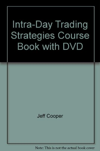 9781592803125: Intra-Day Trading Strategies Course Book with DVD