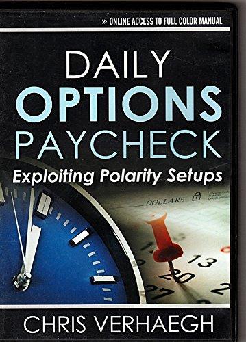 9781592805853: Daily Options Paycheck Exploiting Polarity Setups Chris Verhaegh