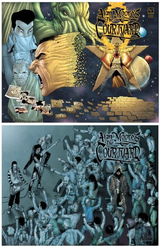 9781592910175: Alan Moore's The Courtyard Deluxe Hardcover Set