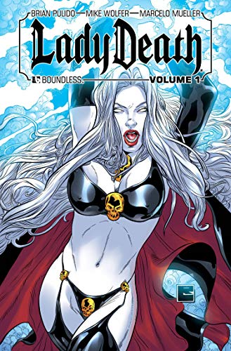 9781592911448: Lady Death Volume 1 and 2 Hardcover Signed By Mike Wolfer Matt Martin Michael Dipascale