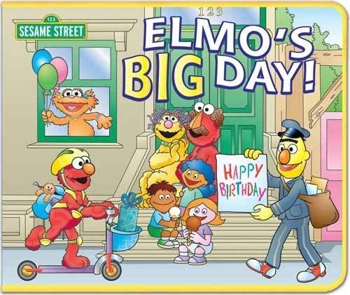 9781592921256: Elmo's Big Day: 3-D Felt Playset Book