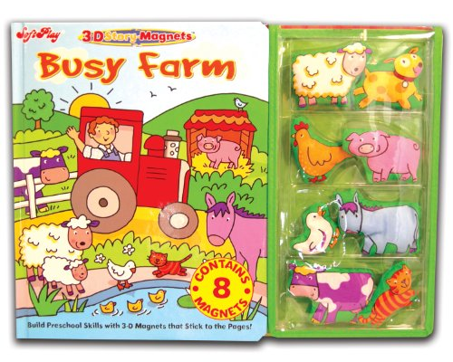 Busy Farm (3-D Story-Magnets): SoftPlay
