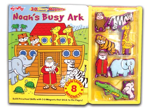 9781592922178: Noah's Busy Ark (3D Story Magnets)