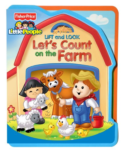 Fisher Price Lift and Look Let's Count On The Farm