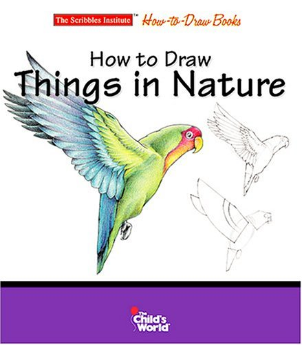 9781592961528: How To Draw Things In Nature (The Scribbles Institute)