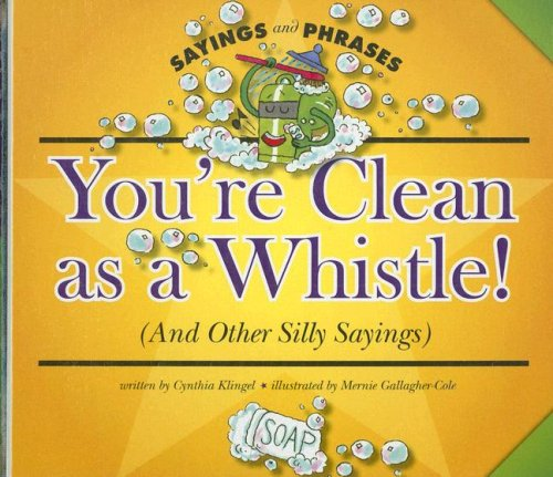 You re Clean as a Whistle! (and Other Silly Sayings) (Hardback): Cynthia Fitterer Klingel