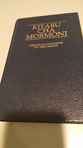 9781592975686: Kitabue Cha Mormoni [Swahili Book of Mormon]