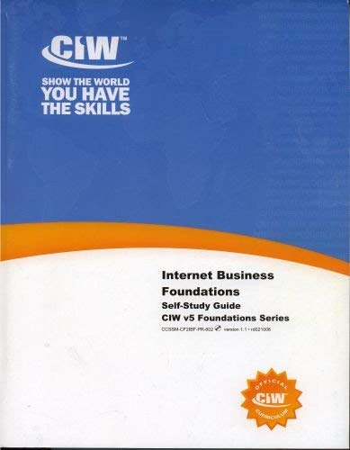 Internet Business Foundations - Self Study Guide